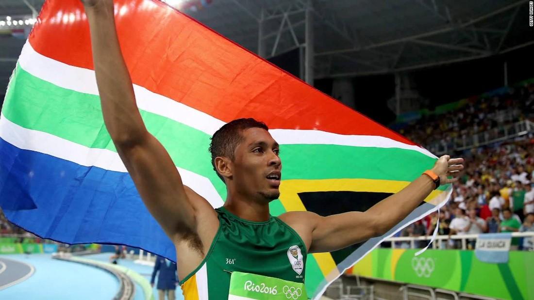 Wayde van Niekerk aiming to break Usain Bolt's 200m world record