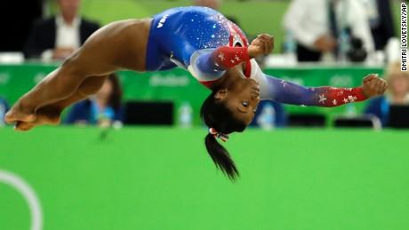 Simone Biles wins fourth Olympic gold on floor