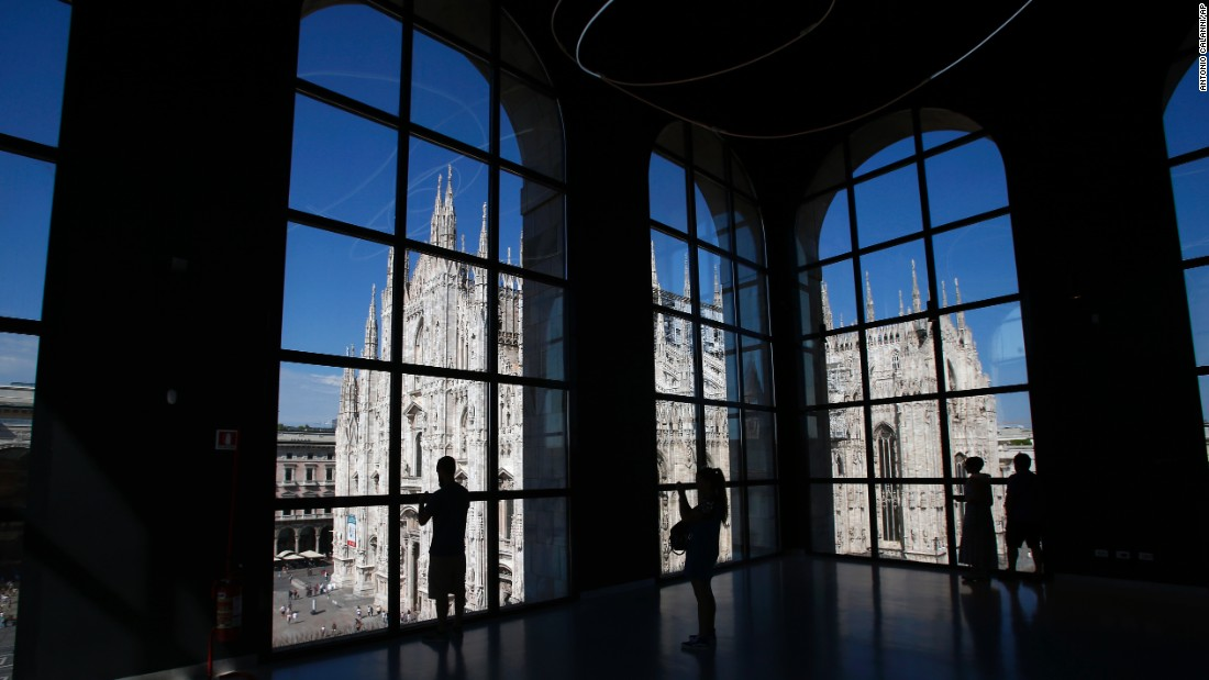 Milan might be one of the most fashion-conscious places on the planet, but it still has space for art and architecture. In addition to an extensive collection of 20th-century art, the city's 900 Museum also offers great views of the Duomo di Milano Gothic cathedral.