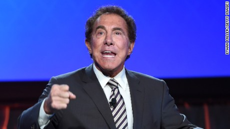 Wynn Resorts Chairman and CEO Steve Wynn speaks at the Global Gaming Expo 2014 at The Venetian Las Vegas on September 30.
