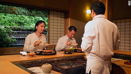 Shinobu Namae travels to Kyoto to learn about traditional Japanese kaiseki