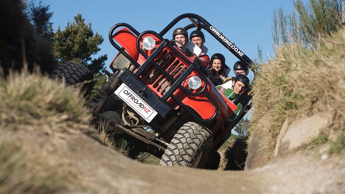 "<a href=""http://www.offroadnz.co.nz"" target=""_blank"">Off Road NZ</a> is another adventure tour company that provides thrill rides, including a quick 15-minute spin and a bush safari on a 4X4."