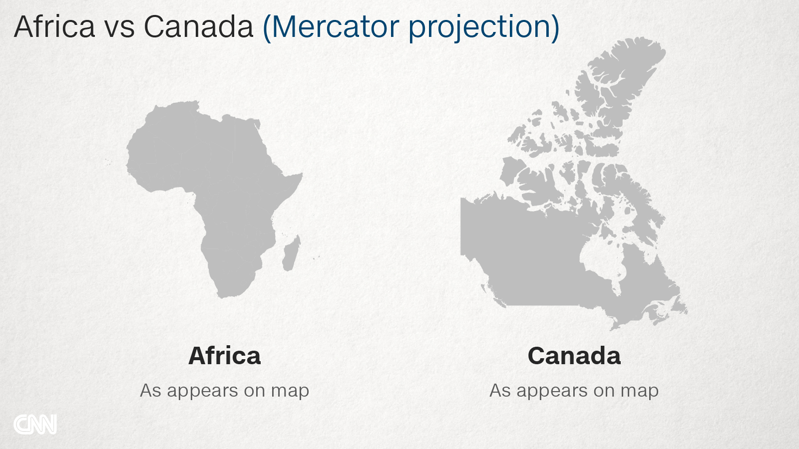 Why do Western maps shrink Africa? - CNN