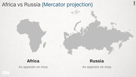 Why do Western maps shrink Africa? - CNN Peters Projection World Map Globe on peters projection map vs mercator, accurate scale map of globe, flat map and globe, peters projection map with scale, peters map of the world, peters projection of the world,