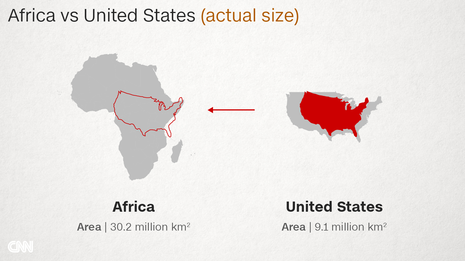 Why do Western maps shrink Africa? - CNN.com