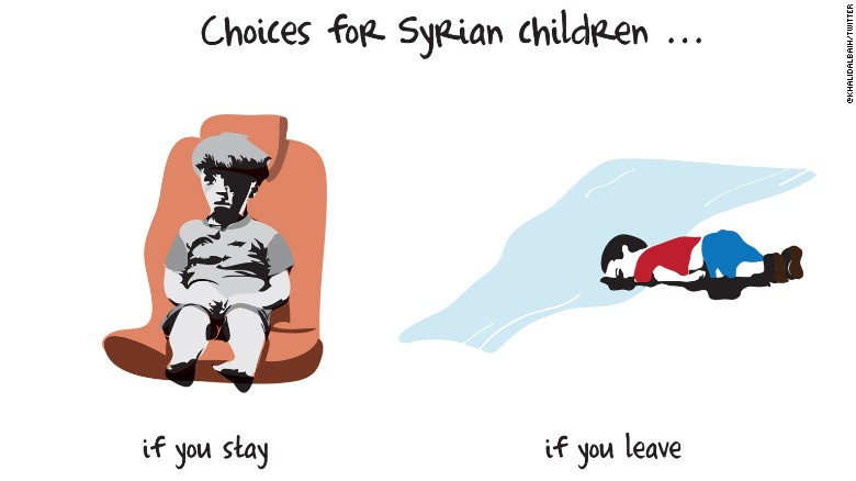 Omran and Alan: Two tiny symbols of Syrian horror