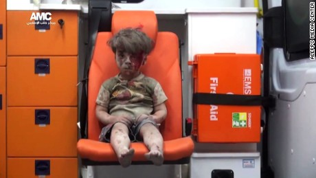 His name is Omran: The bloodied boy in Syria