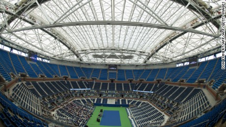 U S Open 2016 150 Million Roof Gives Slam New Look