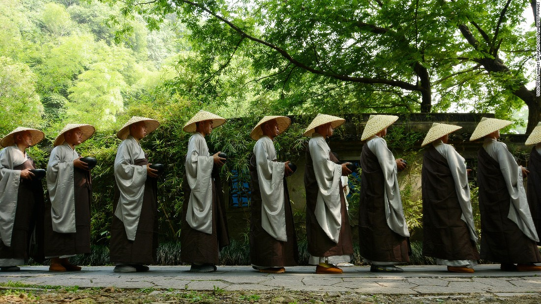 Surrounded by lush trees, Lingyin Temple is a pocket of calm a short ride from the city center. It's one of the country's oldest and most important Buddhist monasteries.