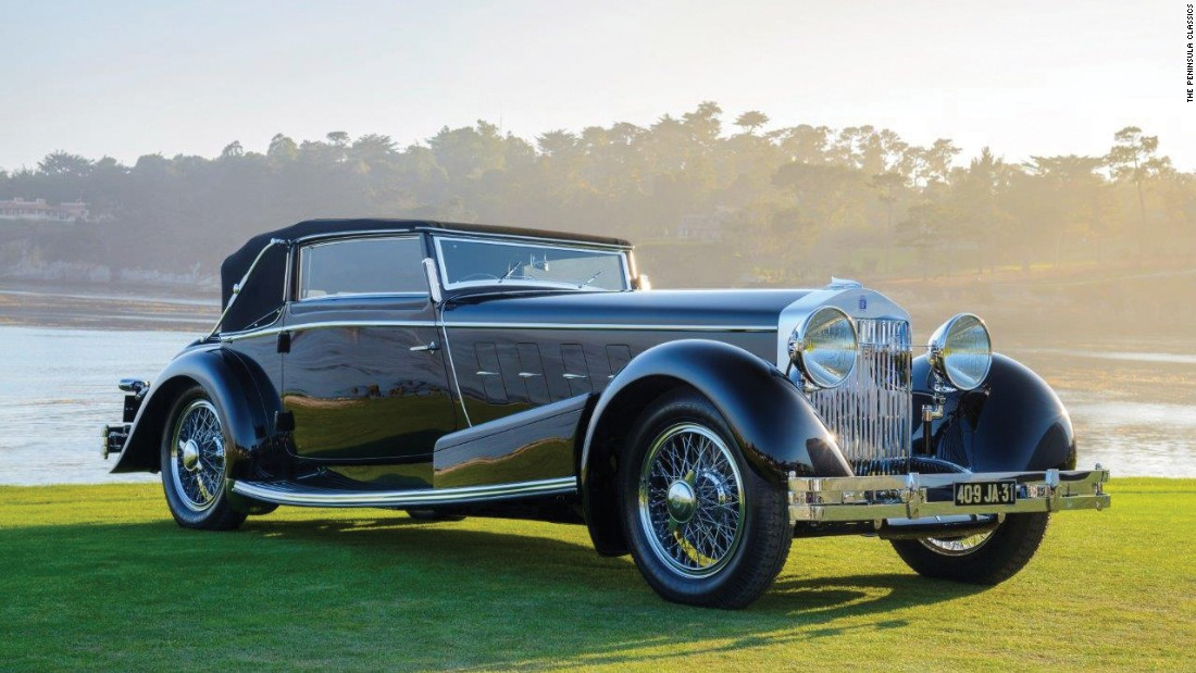 This 1932 Isotta Fraschini Tipo 8A won Best in Show. It has been owned by only four people since it was made.