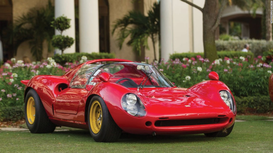 The 1965 Ferrari 166 P 206 SP Dino is considered to be one of history's most beautiful cars.