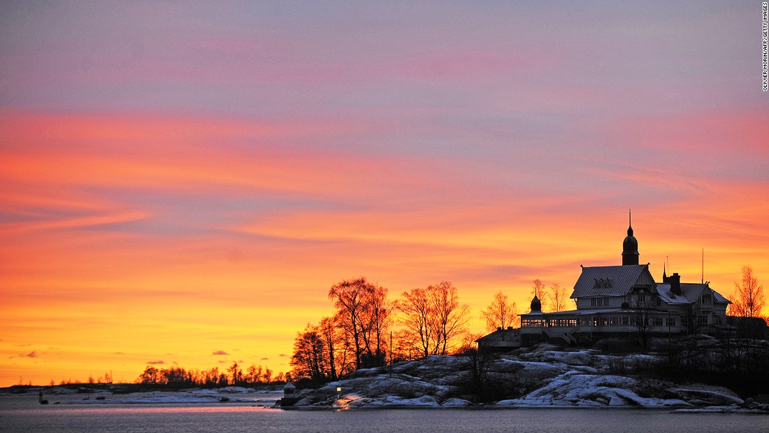 """Finland was ranked as one of Europe's<a href=""""http://www.cnn.com/2015/10/14/travel/finland-reasons-to-be-happy/""""> happiest nations</a> in 2015. With Helsinki now the 9th most livable city, the country has even more reason to smile."""