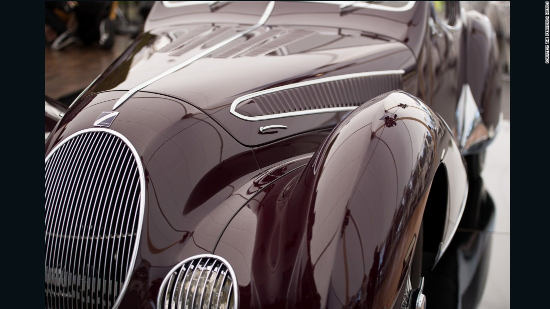 """A French 1937 Talbot-Lago T150-C SS """"Goutte d'Eau"""" won the inaugural The Peninsula Classics Best of the Best Award at Pebble Beach 2016."""