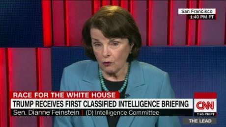 ranking intel democrat senator dianne feinstein the lead jake tapper interview_00043411.jpg