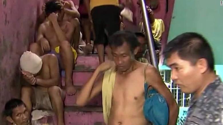 Philippine jail Watson Stevens NewsStream segment_00022913