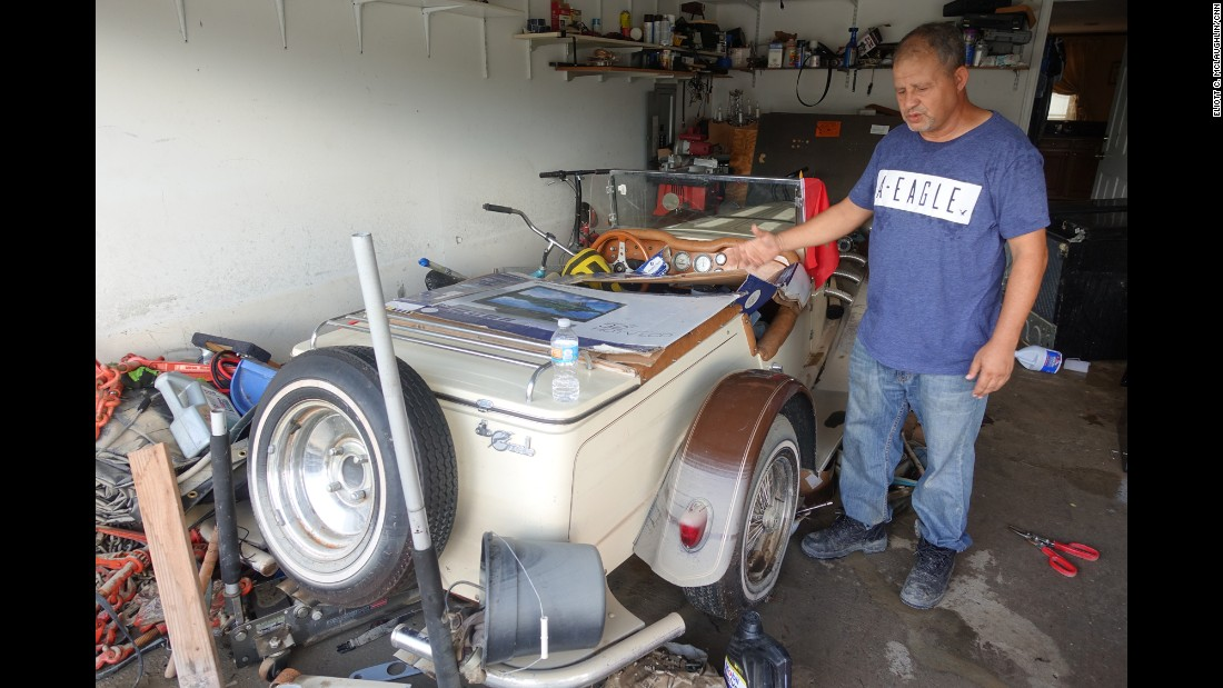 Nourreddine Azmi, a longtime resident of the Baton Rouge area, is one of the few South Point residents with flood insurance. Still, he wonders if his policy will cover some of his most beloved possessions, including posh furniture from his native Morocco and his 1929 Mercedes Gazelle. When the flooding hit, he lost phone service and couldn't find his family for two days, so no matter what happens, he said, he considers himself a fortunate man. Material belongings can be replaced, he said.
