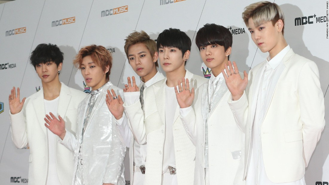 K-pop bands often have names consisting of acronyms -- like BAP, which stands for Best Absolute Perfect.