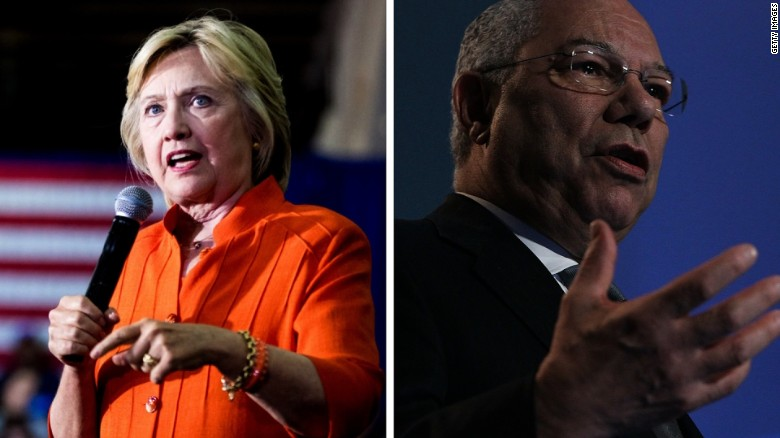 Report: Colin Powell advised Clinton on email