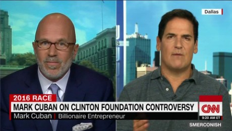 Mark Cuban on Clinton Foundation Controversy_00024108.jpg