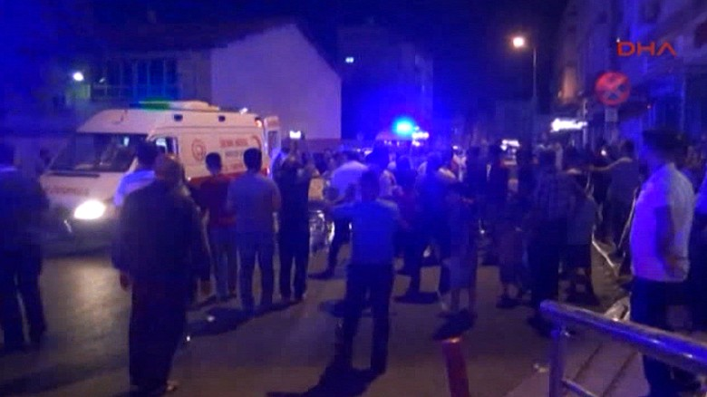 Dozens killed in Turkey wedding explosion