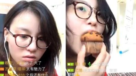Fu yuanhui livestream
