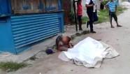 Honduras boy watches father murdered