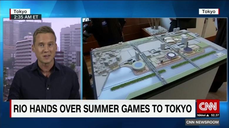 Tokyo picks up Olympic mantle