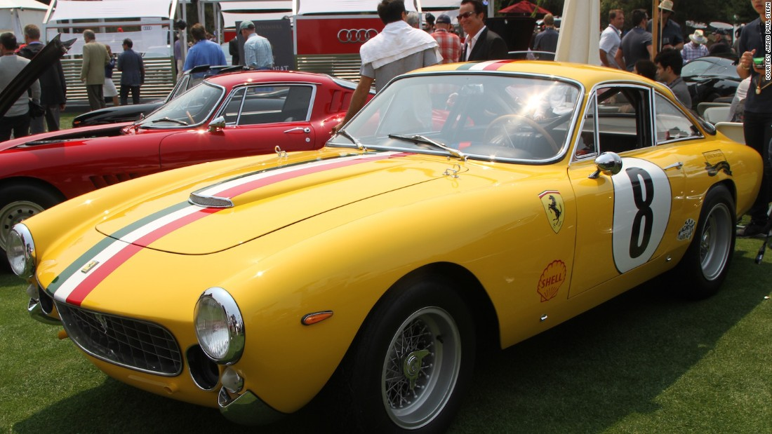 Actor Steve McQueen was the most famous face to own a Ferrari 250 GT Lusso, though his was a 1963 model.