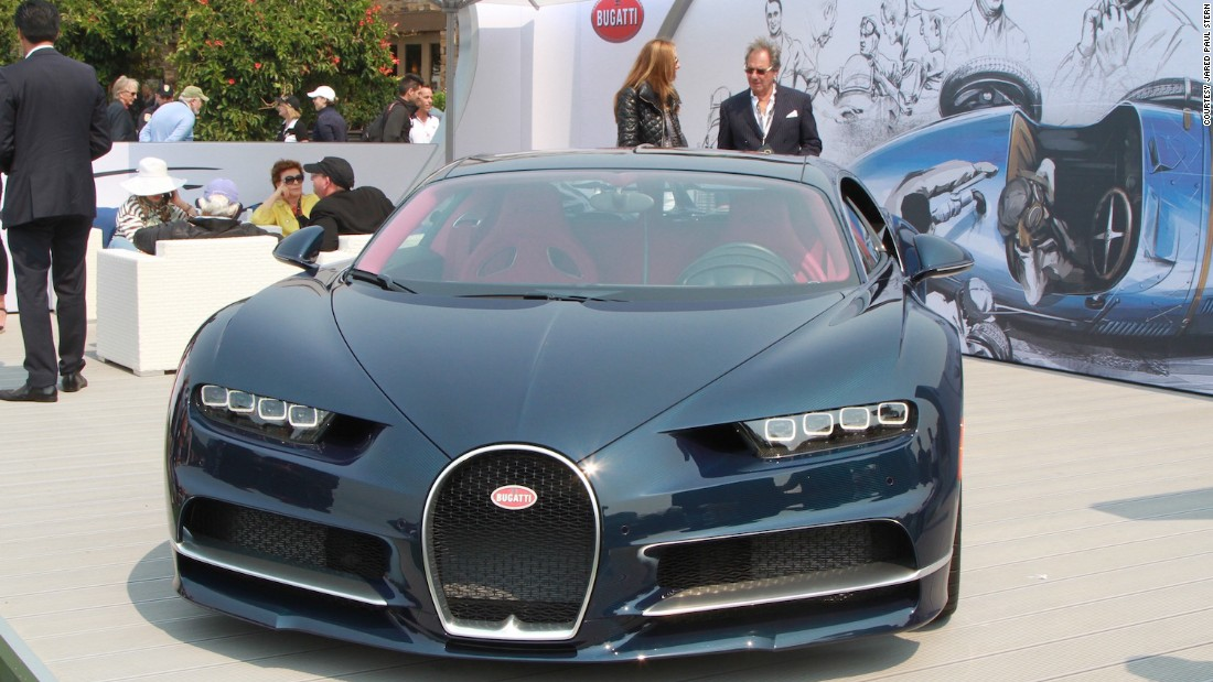 """The <a href=""""http://edition.cnn.com/2016/03/01/autos/bugatti-chiron-geneva-motor-show/"""">Bugatti Chiron</a>, set to become the most expensive and fastest production car in the world, made its first public appearance."""