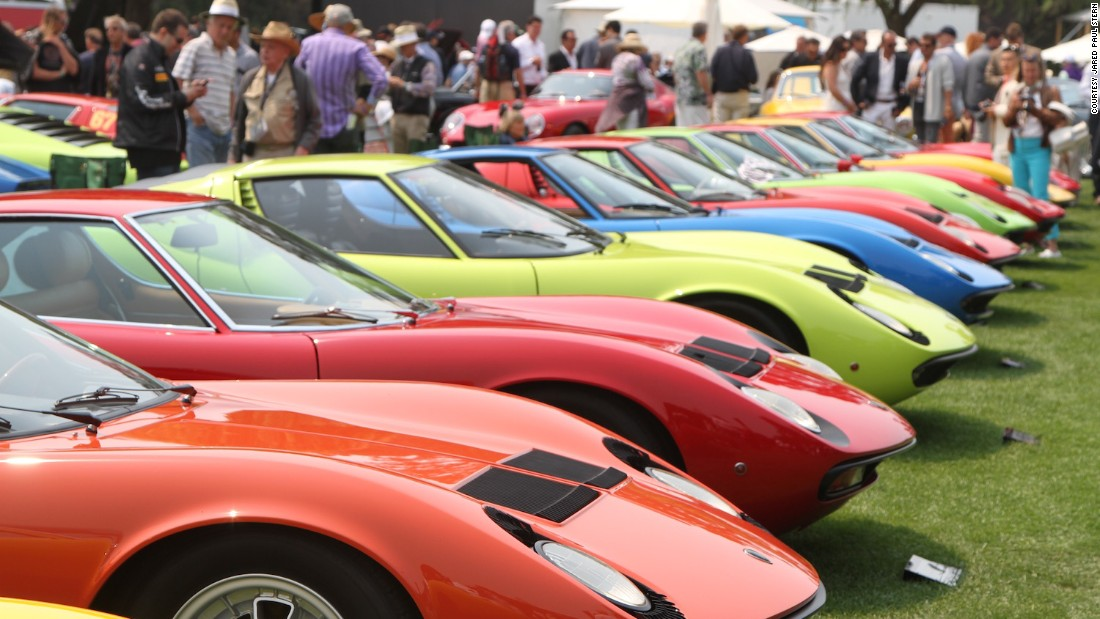 """On August 19, car-lovers congregated at <a href=""""http://signatureevents.peninsula.com/en/motorsports/motorsports.html"""" target=""""_blank"""">The Quail, A Motorsports Gathering</a>, the most elegant and stylish event of Pebble Beach. 5,000 VIP guests viewed over 250 stunning cars, including 25 Lamborghini Miuras (seen here.)"""