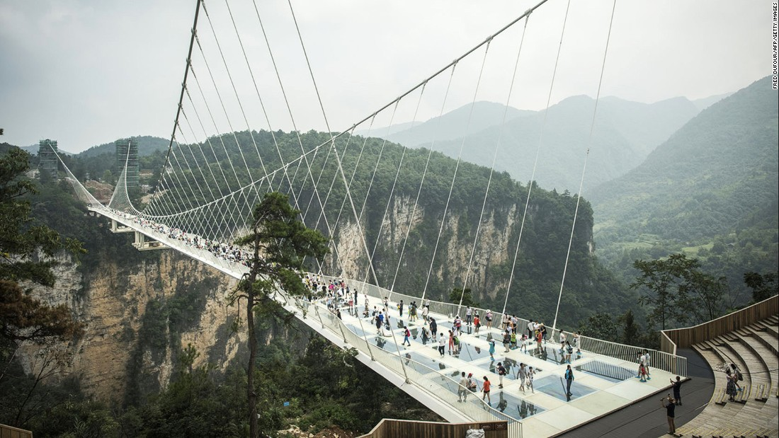 Zhangjiajie is already a popular destination with visitors thanks to its dramatic landscape of peaks and valleys.