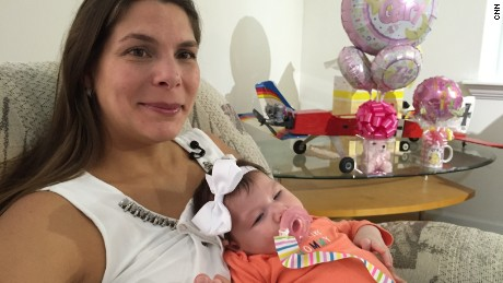 Maria Mendoza with her daughter, Micaela.