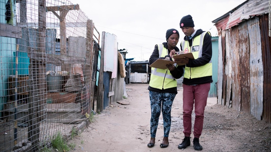 The Red Cross has worked with Lumkani in Khayelitsha to distribute hundreds of the devices.