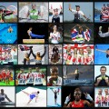 Team GB athlete collage olympics rio 2016