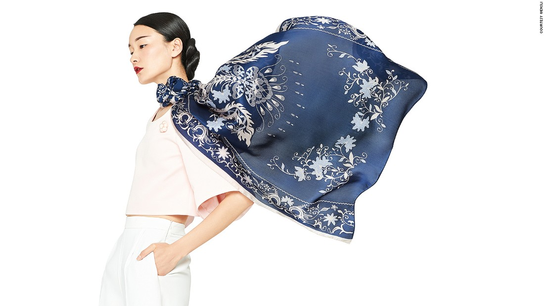 """Hangzhou is known as the city of silk. Scarves are the city's most popular silk souvenir, highlighting its cutting-edge dyeing techniques. The industry leader is <a href=""""http://global.wensli.com/"""" target=""""_blank"""">Wensli</a>, a homegrown silk brand."""