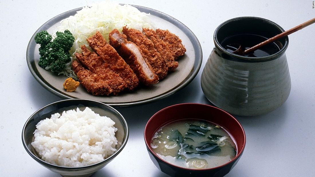 Breaded, deep-fried until crisp and golden brown, then drizzled with a sweet and piquant sauce --  meat doesn't get any better than tonkatsu, or Japanese pork cutlet.