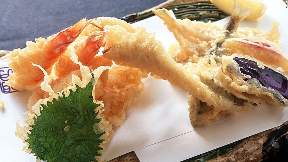 Thin, crispy and golden, Japan's tempura turns deep-frying into an art form.