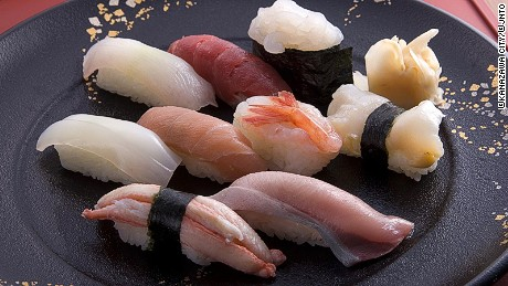 Sushi is easily the best ambassador for Japan.