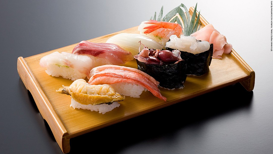 One of Japan's greatest gastronomical gifts to the world, good sushi relies on two things: the freshness of the ingredients and the knife skills of the chef.