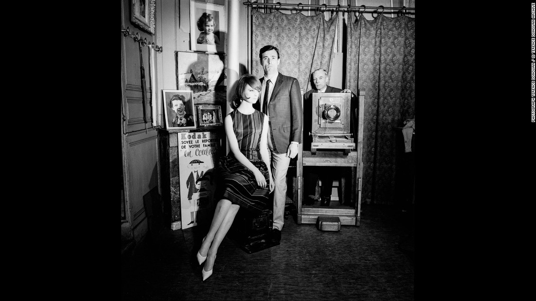 Former model and current Vogue creative director at large Grace Coddington, left, with Peter Anthony in June 1961.
