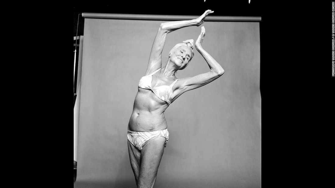 Dancer Margaret Morris in August 1969.