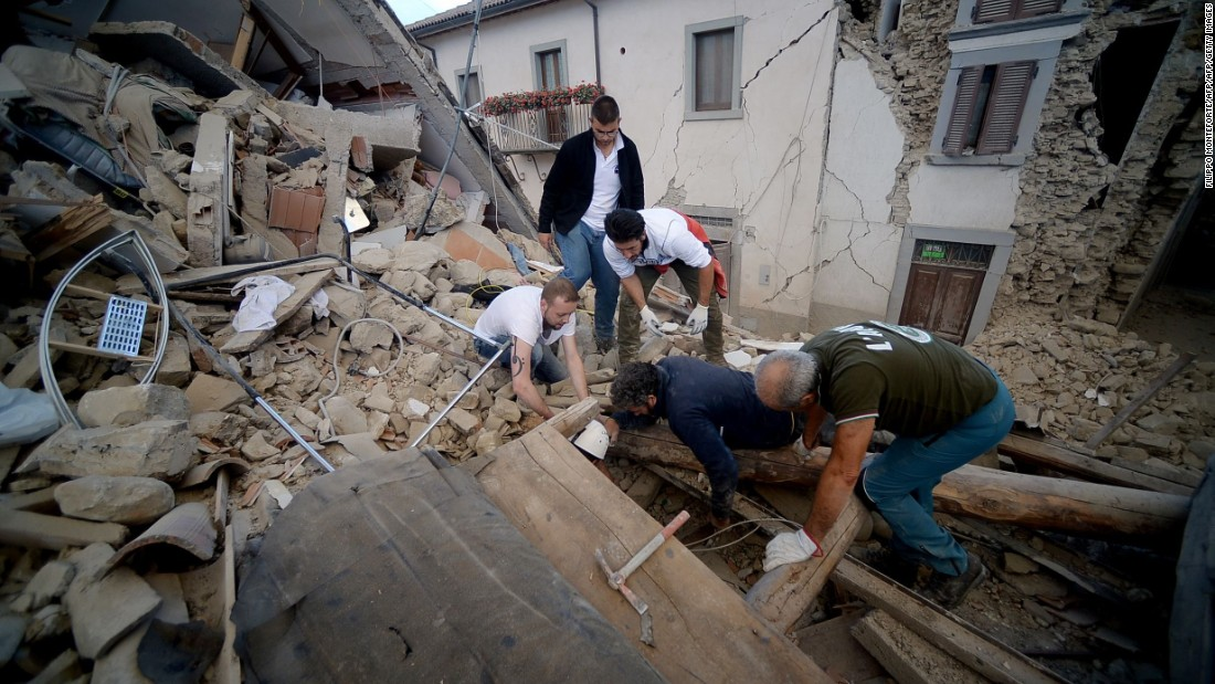 Deaths in Italy after 6.2-magnitude quake strikes central region