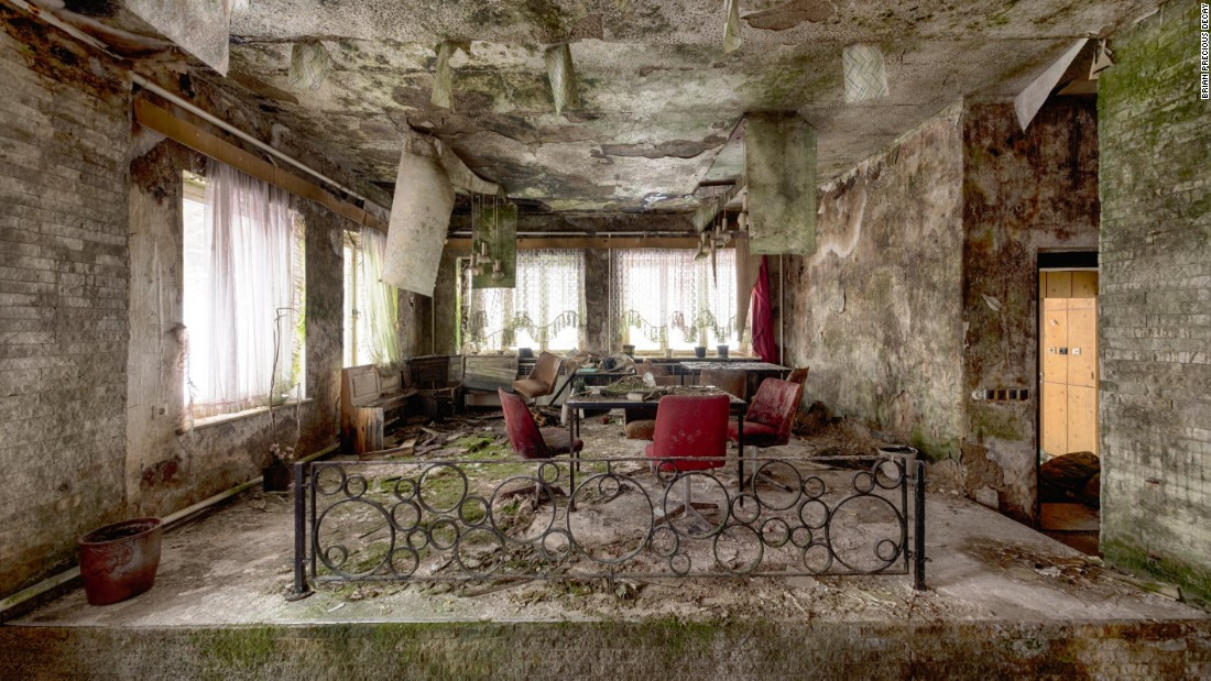 This used to be a holiday camp for children in Germany.