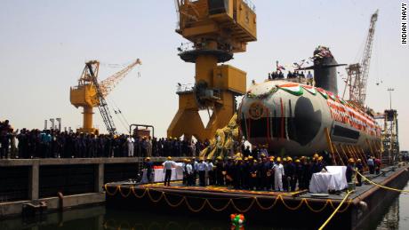 india submarine leak
