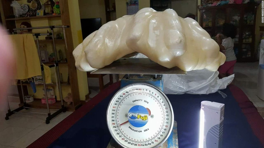 In August 2016, the world's largest pearl was discovered under a bed in the Philippines, where it had lain forgotten for over ten years.