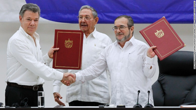FARC-Colombia peace deal finalized