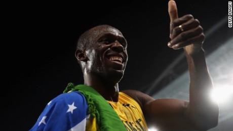 rio olympics usain bolt christie sot _00002819