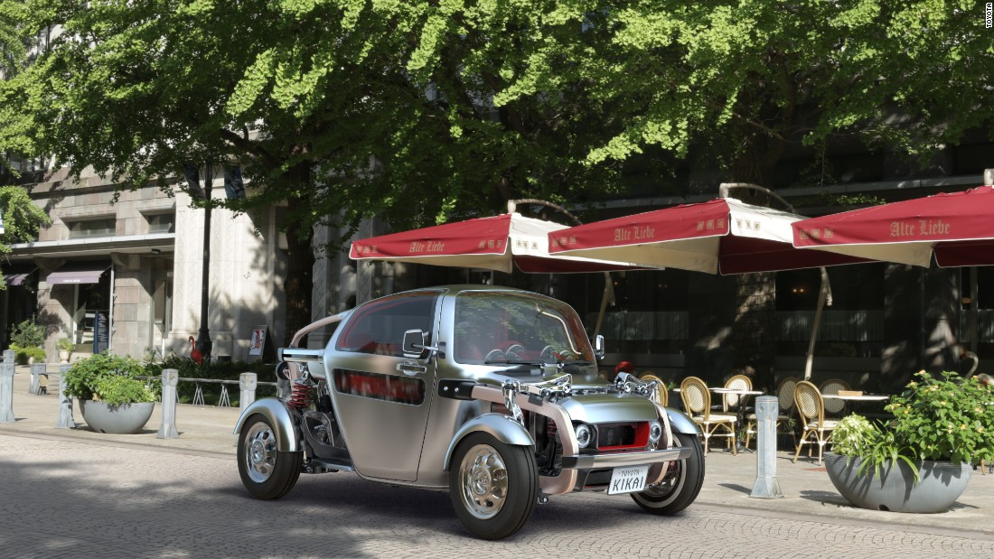 The Kikai was a star of the 2015 Tokyo motor show. It is designed to celebrate its mechanicals and places most of them on show. It's unlikely to ever see production, though.