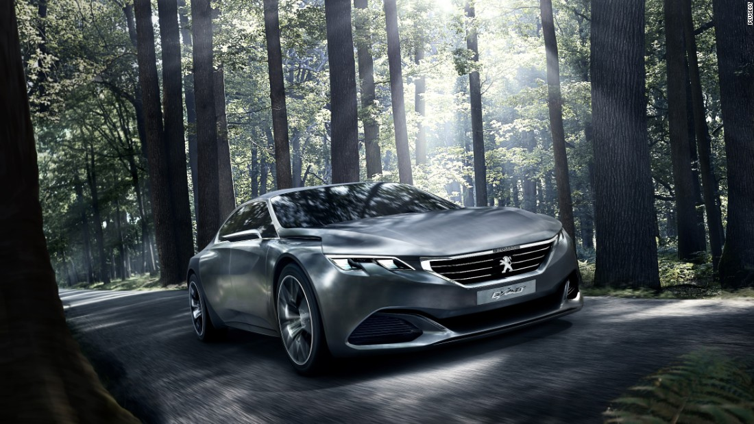 French brand Peugeot has been fighting to reinforce its identity as a manufacturer of premium mainstream cars. The Exalt concept was a showstopper designed to grab headlines, but also showcase what the firm could do with natural materials.