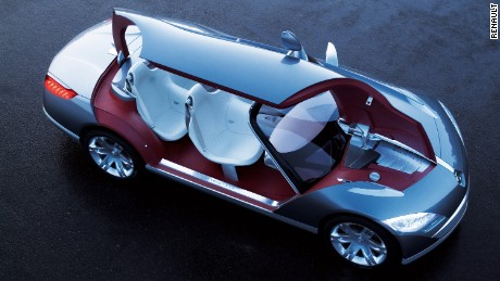 What does the world need? Easy - a four-seater cabriolet with some of the largest gullwing doors ever created. Renault's vision of the future back in 2006 was designed to play around with packaging - but it was never likely to reach showrooms.
